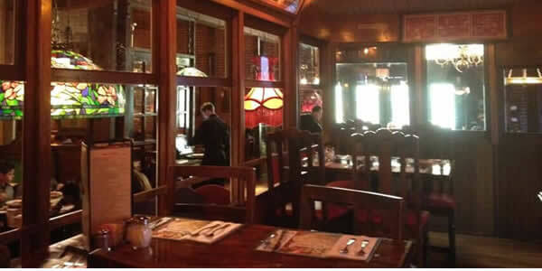 The Old Spaghetti Factory Table Dining Area